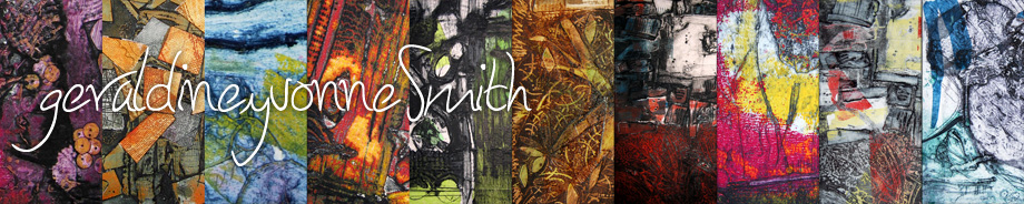 Geraldine Yvonne Smith - Printmaker and Mixed-Media Artist - Wirksworth, Derbyshire